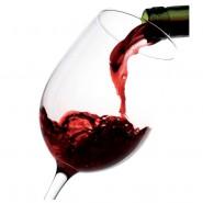 Botella de Vino Tinto Joven