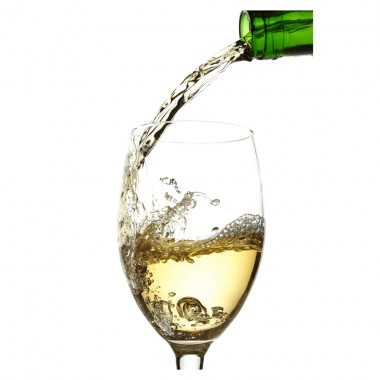 Botella de Vino Blanco Azabache semidulce