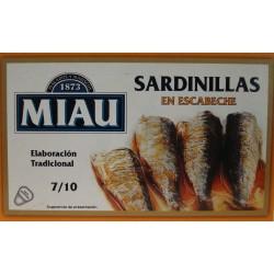 Sardinillas en escabeche