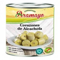 Corazones de Alcachofas 3Kg