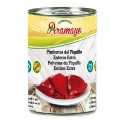 Pimiento del Piquillo para rellenar 18/22 Frutos Lata 1/2kg
