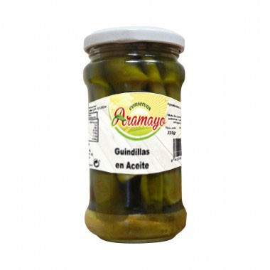 Guindillas en Aceite  frasco S-314