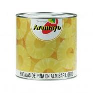 Piña en Almíbar en Rodajas Lata 1Kg
